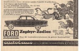 Ford Reklame aus den 50ern