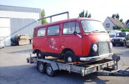Restaurierung Taunus Transit FK 1250