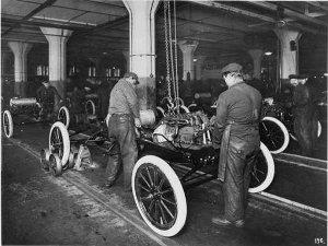 Ford Fabrik (innen)