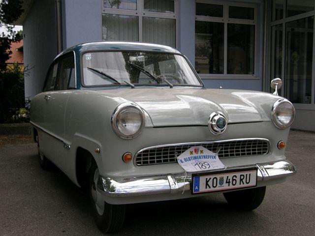 """Ford Taunus 12M """"Weltkugeltaunus"""""""